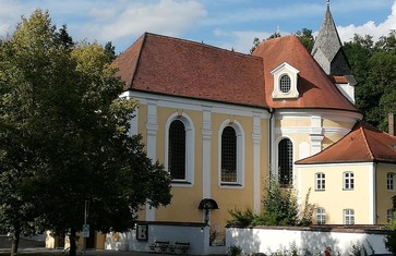 Wieskirche im Norden von Freising
