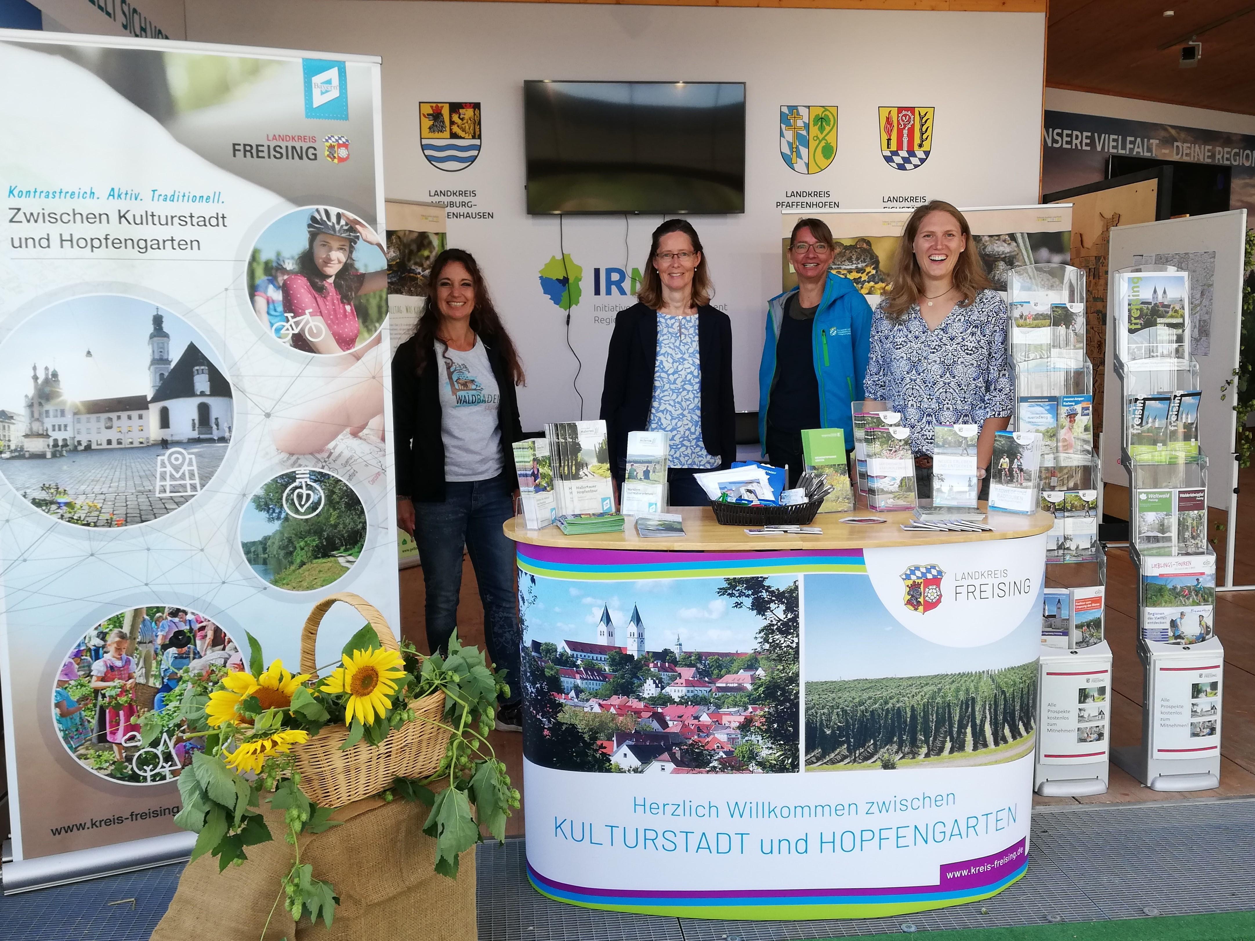 Tourismusreferat Landkreis Freising und Partner auf der Landesgartenschau Ingolstadt