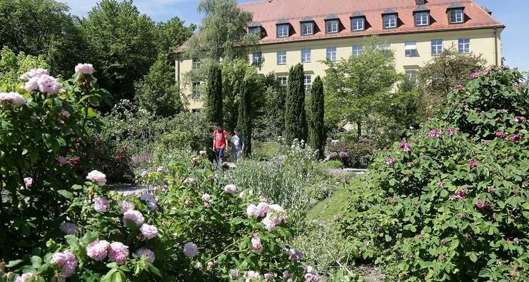 Weihenstephaner Gärten in Freising
