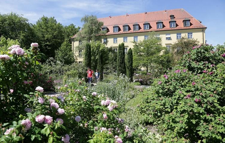 Oberdieckgärten der Weihenstephaner Gärten in Freising