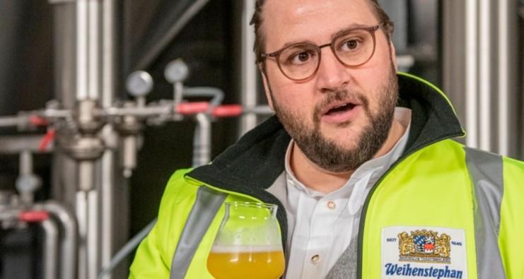 Matthias Ebner - Markenbotschafter der Brauerei Weihenstephan