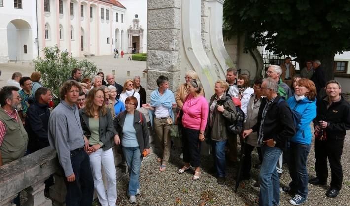 Stadtführung durch Freising mit einer Gruppe