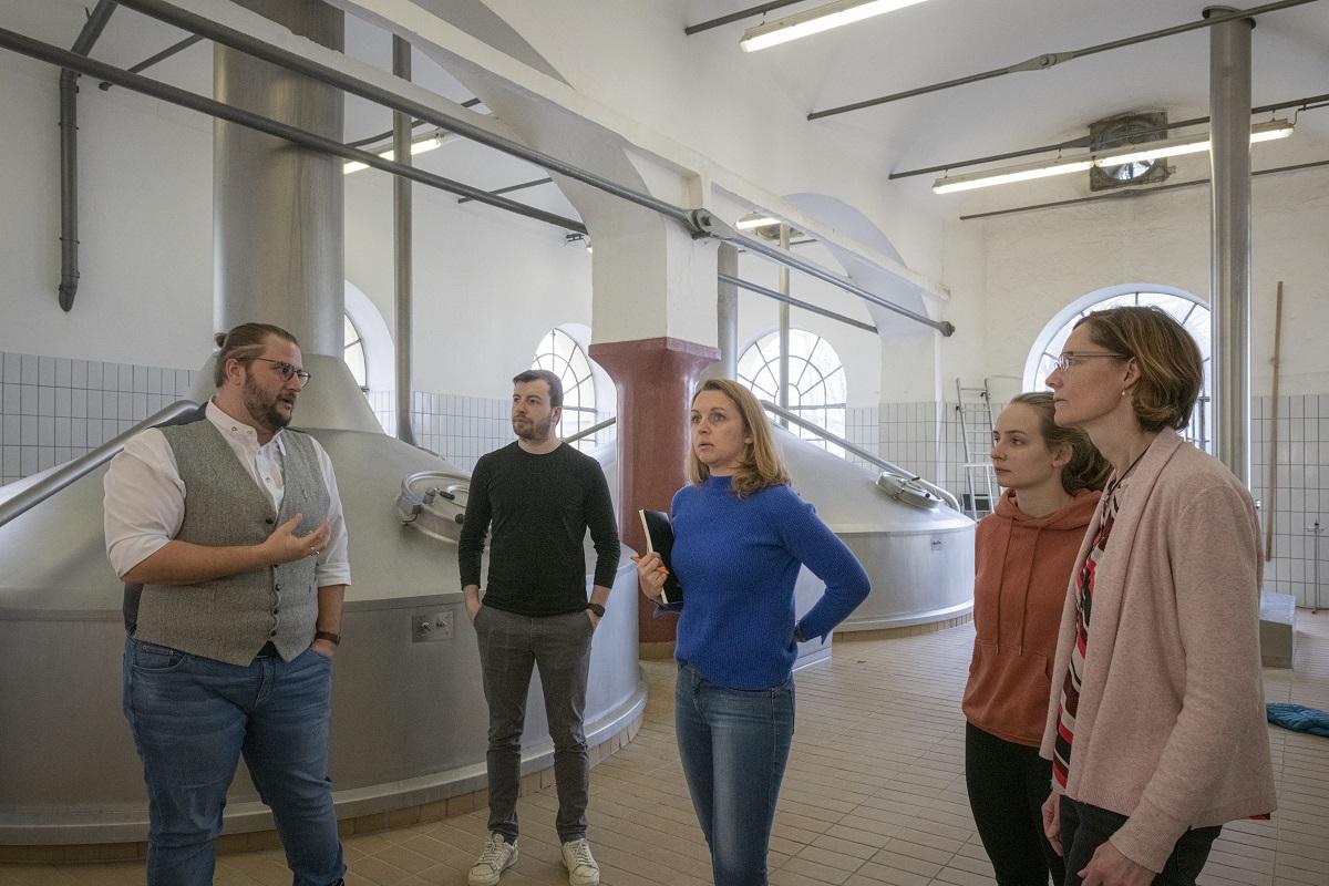 Führung in der Bayerischen Staatsbrauerei Weihenstephan in Freising