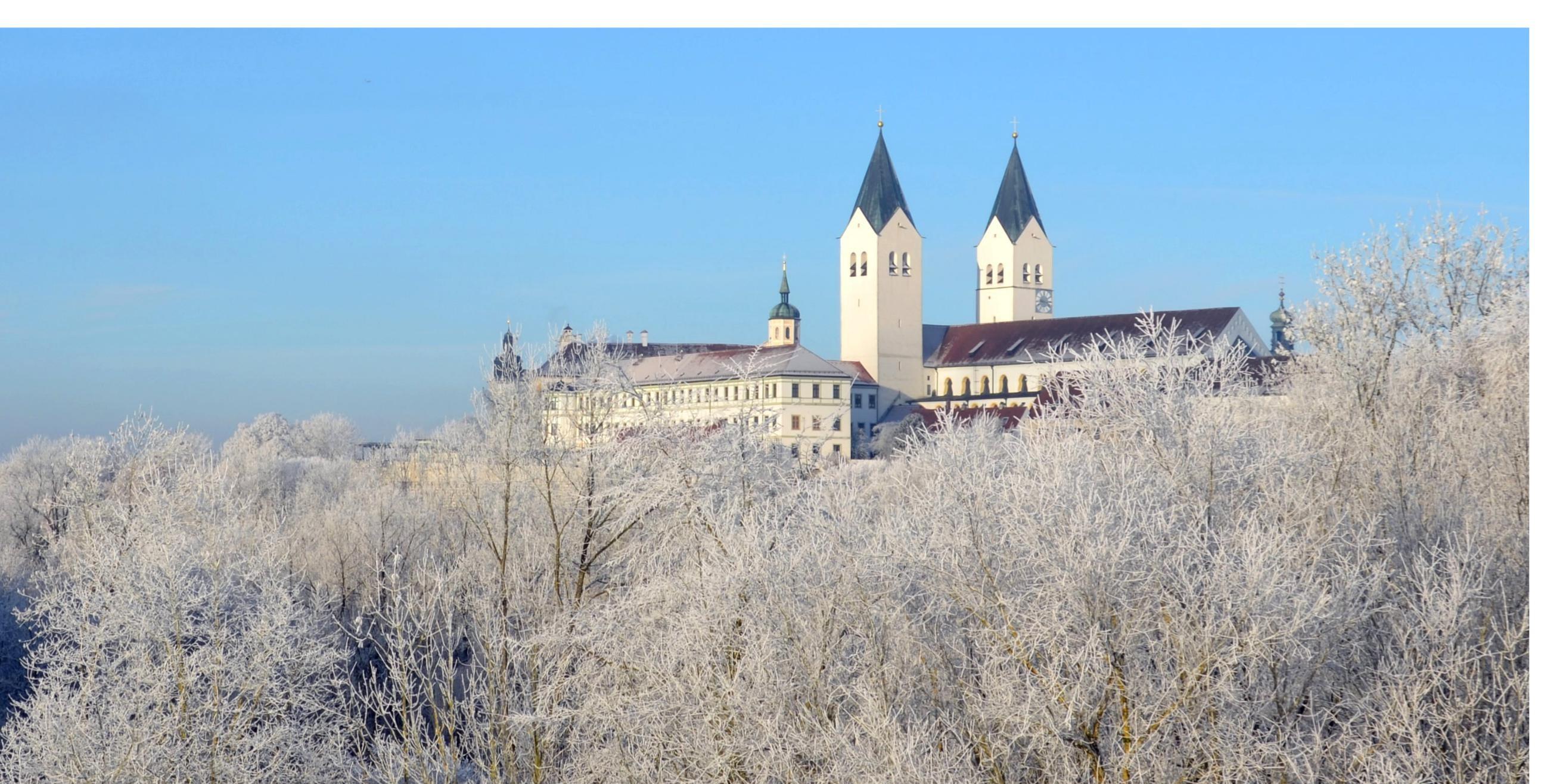 Winterstimmung in Freising