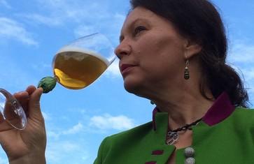 Biersommeliere Hildegard Heindl