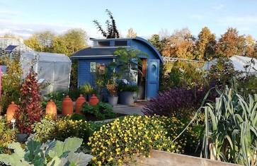Gartenhaus im Kleingarten der Weihenstephaner Gärten