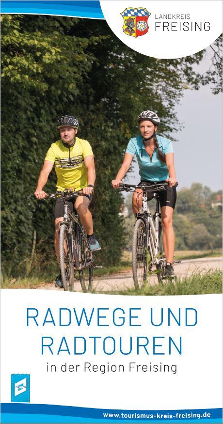 Titel der neuen Radkarte für die Region Freising