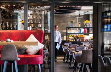 Restaurant im Eriks Hotel