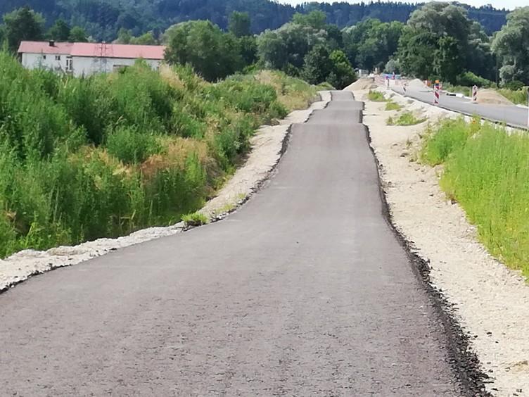Eine wellenartige Streckenführung ist charakteristisch für die Kirchdorfer Buckelpiste