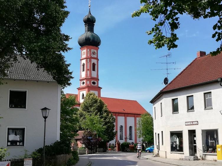 Ortszentrum von Kirchdorf a. d. Amper