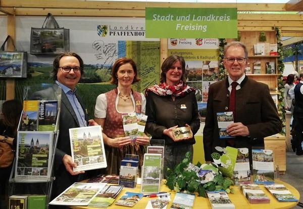 Gemeinsamer Auftritt von Stadt und Landkreis Freising auf der Grünen Woche in Berlin