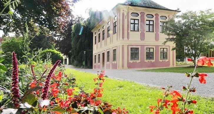 Hofgarten in den Weihenstephaner Gärten