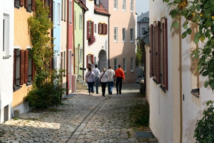 Mittlerer Graben in Freisings Innenstadt
